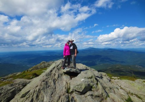 Hikers on Camels Hump
