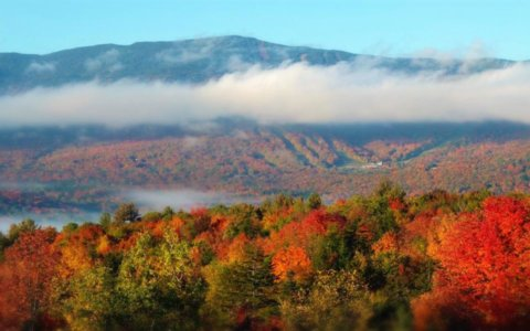 Vermont Fall Vista