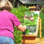 Painting at WestHill House