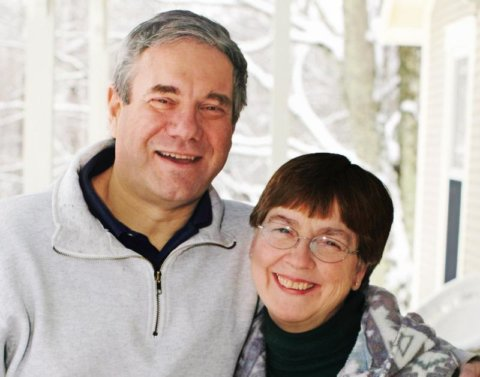 Vermont Innkeepers Peter & Susan MacLaren of West Hill House B&B