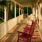 Porch at WestHill House