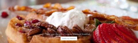 3-course breakfast