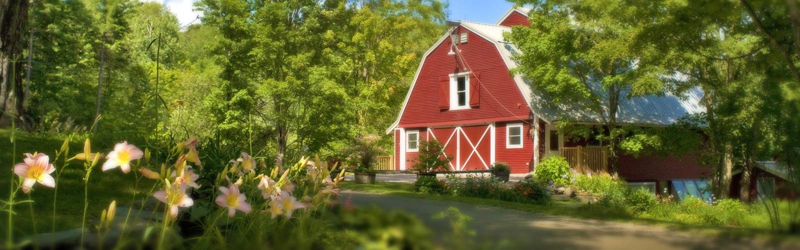 The Handsome Red Barn