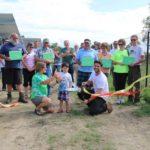 Ribbon cutting for Solar Farm