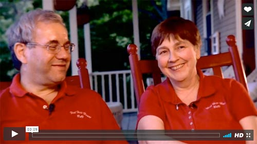 Peter & Susan welcome you to West Hill House B&B