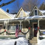 Winter WestHill House