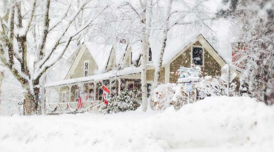 Join us for cross country skiing at Blueberry Lake and other great places near our Vermont B&B