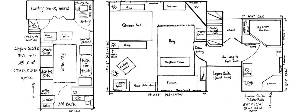 Logan Suite Floor Plan