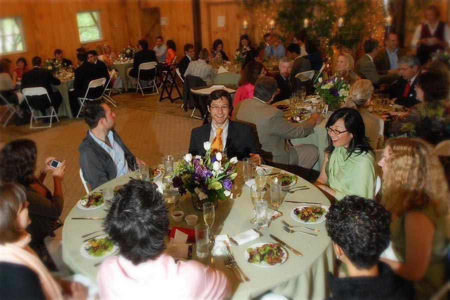 Vermont Receptions and Dinners at West Hill House B&B in