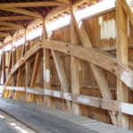 Burr Truss support. Photo from Wikipedia. no copyright infringement is intended