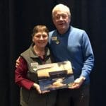 Peter & Susan with VT Chamber 2019 Innkeeper of the Year Award