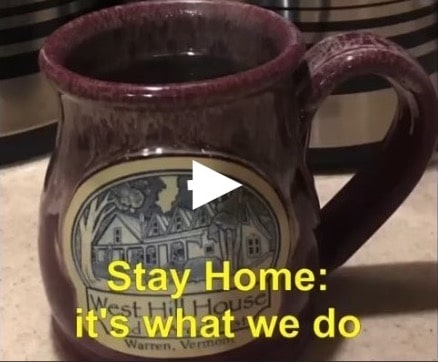 Stay home - it's what we do