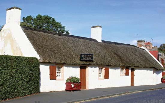 Robert Burns birth place