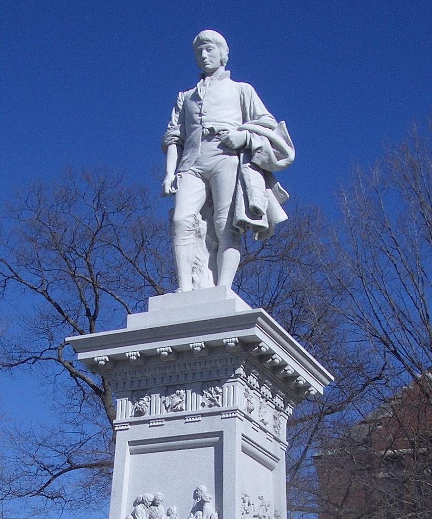 Statue of Robert Burns in Barre, Vermont