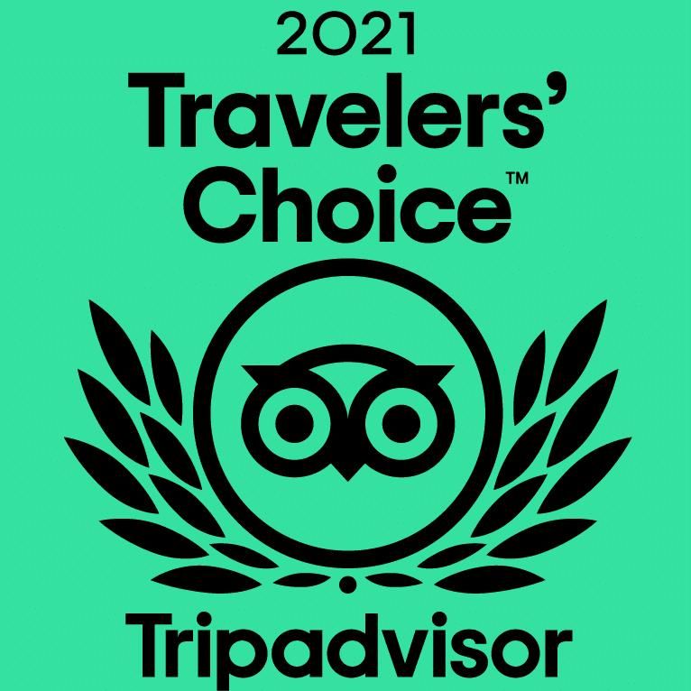 Tripadvisor 2021 Travelers' Choice