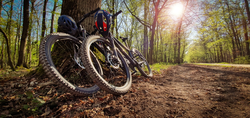 Enjoy some of the best views while mountain biking in Vermont in the Mad River Valley